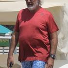 Flavio Briatore al Twiga Beach Club a Marina di Pietrasanta (Olycom)