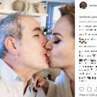 Lamberto Sposini e il bacio con Barbara D'Urso prima di Domenica Live: «Carmelita Smack»