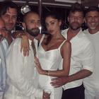 Belen Rodriguez, Ricky Martin e