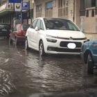 Bomba d'acqua anche su Napoli Video