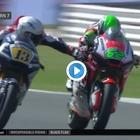 Gp San Marino, gesto folle di Romano Fenati in Moto 2: tira il freno a Stefano Manzi a oltre 250 km/h Video
