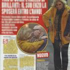 Tina Cipollari e il fidanzato Vincenzo Ferrara a Firenze (Nuovo)