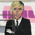 Nadia Toffa, il murale in suo ricordo. Fan su Facebook: «Un piccolo gesto per una persona stupenda»