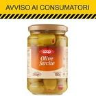 Olive farcite della Coop, scatta il richiamo: è allerta allergie