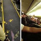 Ryanair, il volo si trasforma in incubo: 70 passeggeri ubriachi urlano e vomitano per tre ore nell'aereo Video