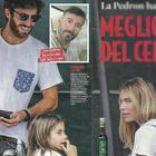 Eleonora Pedron dimentica il passato: eccola con la Iena Nicolò Devitiis e la figlia Ines