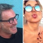 """Barbara D'Urso scatenata in vacanza con Filippo Nardi e gli amici. I follower si chiedono: """"Ma sono fidanzati""""?"""