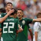 Germania-Messico 0-1: sorpresa Tricolor, Lozano stende i campioni del mondo