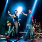 Lillo e i Vagabondi, il rock show al Riverside