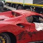 Verona, incidente con la Ferrari: perde il controllo dell'auto ed esce di strada. Morto sul colpo