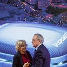 Il Real Madrid presenta il nuovo Bernabeu: ecco come sarà