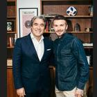 David Beckham alla Safilo