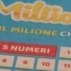 Million Day, i numeri vincenti di oggi sabato 12 ottobre 2019