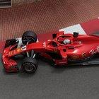 La Ferrari di Sebastian Vettel