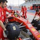 Mick Schumacher, le foto del primo giorno in Ferrari