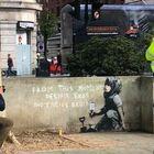 Banksy colpisce ancora? Murale per il movimento ambientalista Extinction Rebellion