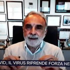 Alberto Matano, il prof. Remuzzi a Vita in Diretta: «Verso casi zero. I nuovi positivi? Potrebbero avere bassa carica virale»