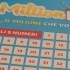 Million Day, i numeri vincenti di domenica 19 gennaio 2020