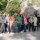 Scolaresche ischitane ai Giardini Walton la Mortella: la natura come spunto per apprendere l'arte del giornalismo