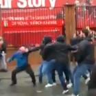 Scontri Liverpool, cade l'accusa di tentato omicidio. I romanisti arrestati: «Non siamo stati noi»