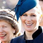 Zara Tindall, secondogenita della principessa Anna, sorella di Carlo e zia di William