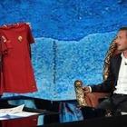 Ascolti tv, Fabio Fazio va in gol con Francesco Totti