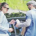 Gigi Buffon e Alena Seredova, volti scuri all'incontro per i figli a 4 anni dalla separazione