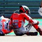 GP Aragon, Furia Lorenzo su Marquez: «Sono impotente e arrabbiato. Vediamo se posso correre in Thailandia»