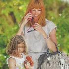 Carlotta Mantovan, mamma felice con la piccola Stella