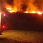 Inferno di fuoco a Taurasi, in fiamme 4 ettari di bosco