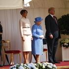 Trump in visita alla Regina Elisabetta