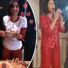 Caterina Balivo compie 40 anni, le foto della festa di compleanno. Balli e canti sfrenati fino a tarda notte