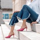 Non chiamatele pantofole: le scarpe del momento sono le Mules
