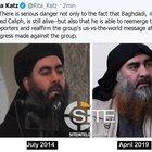 Site, nuovo video Isis in cui compare Al Baghdadi
