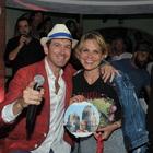 Capri, Simona Ventura anima la notte dell'Anema e Core