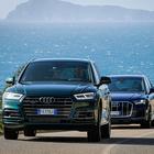 """Audi Q Experience, in Sardegna un """"tuffo"""" nei Quattro Anelli. Test della versatilità per Q5, Q7 e SQ8"""