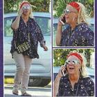Tina Cipollari furiosa al telefono (DiPiù)