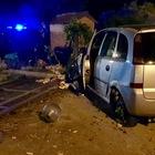 Frosinone, auto fuori strada e scontro fra tir e furgone: due feriti, uno elitrasportato