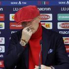Mihajlovic ringrazia la moglie e si commuove: «È l'unica persona che forse ha più palle di me»