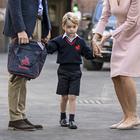 Principe George, il primo giorno di scuola senza mamma Kate