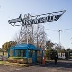 L'ingresso dell'ex ippodromo di Tor di Valle