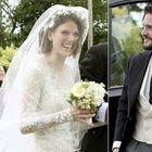 Nozze al castello per le star del Trono di Spade, l'abito da sposa fa impazzire i social: «Altro che Meghan Markle»