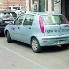 Via Emanuele Filiberto, ausiliari Atac nascosti in auto multano a raffica gli automobilisti