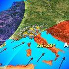 Pasqua con temperature estive al Sud, in arrivo Hannibal dall'Africa. Al Nord rischio alluvioni
