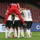 L'Atalanta vola, espugna 2-1 il San Paolo e aggancia il Milan al quarto posto