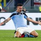 Lazio-Inter 1-1 La Diretta Vantaggio di Young, pari di Immobile su rigore