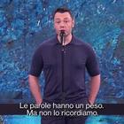 """Tiziano Ferro, appassionato monologo contro odio e bullismo a """"Che tempo che fa"""": «Le parole hanno un peso»"""