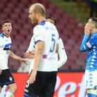 Disastro Napoli: spreca e crolla E la Champions non è blindata