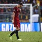 Nostalgia Dzeko: «Segnare è più difficile: mancano Totti e Salah e Nainggolan gioca troppo lontano»