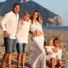 Francesco Totti, il tenero scatto di famiglia a Sabaudia fa il boom di like